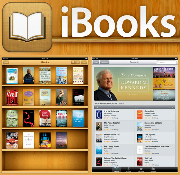 iBooks to Be Carried by Lovereading.co.uk