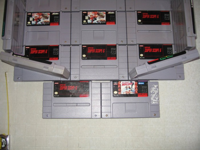Random Cool Stuff: Build a Urinal from Old SNES Cartridges!