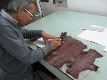 Production on Judie's One-of-a-Kind Orbino Padova Case for the iPad 2 Begins