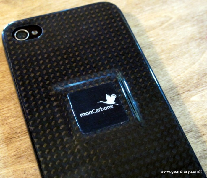 iPhone 4 Gear Review: monCarbone Magnet Force Carbon Fiber Case