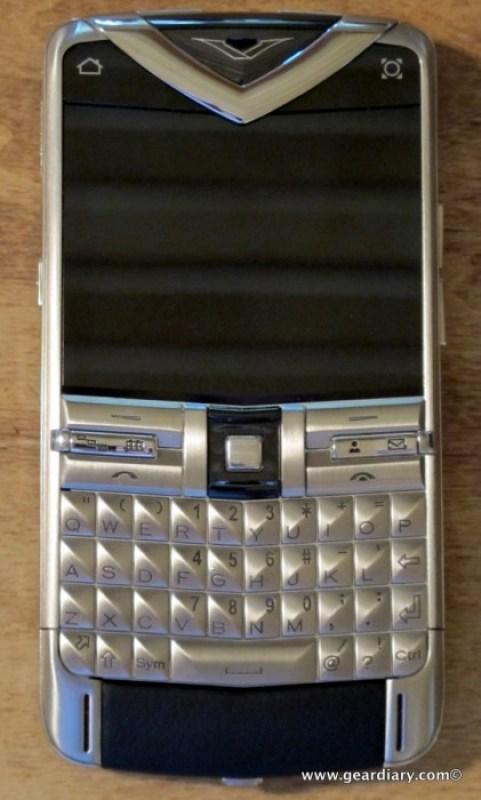 GearDiary Vertu Constellation Quest Review - Vertu's First QWERTY Smartphone