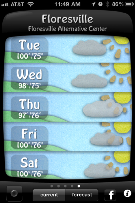 Weather Doodle for iPhone/Touch and iPad