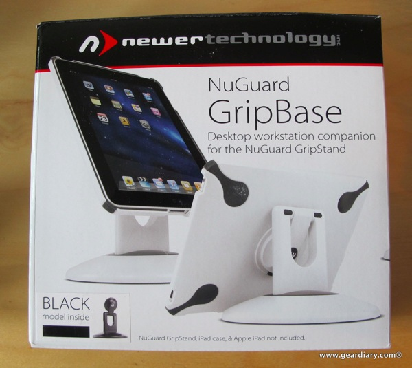 iPad Accessory Review: Newer Technology NuGuard GripStand/GripBase  iPad Accessory Review: Newer Technology NuGuard GripStand/GripBase