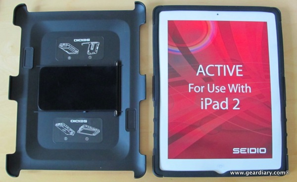 iPad 2 Case Review: Seidio Active Case for the iPad 2  iPad 2 Case Review: Seidio Active Case for the iPad 2