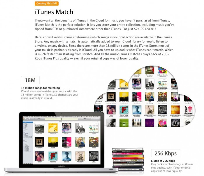 Music Diary Notes: Quick Look at iTunes Match & iCloud In Context
