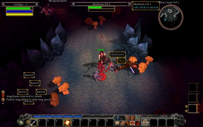 Mac/PC Game Review: Din's Curse: Demon War (PC/Mac RPG, 2011)