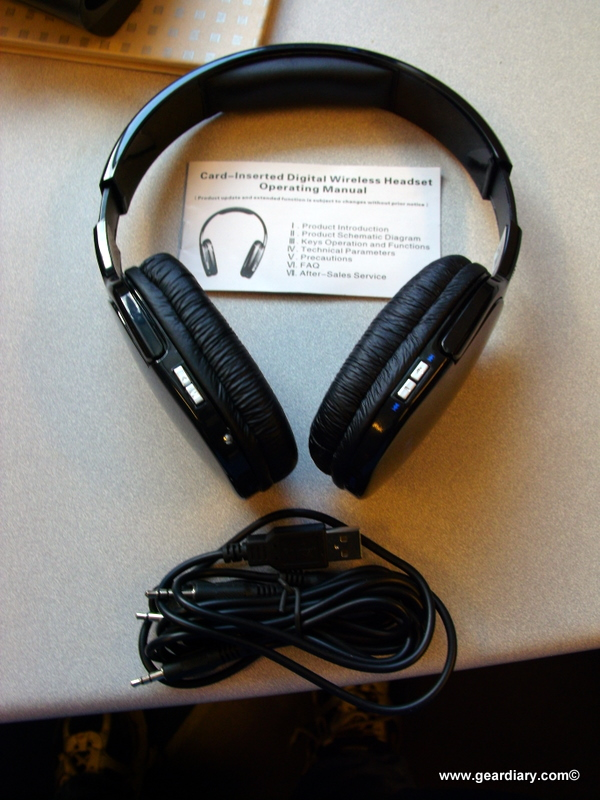 Review: Sporty MP3 Player Stereo Headphones + FM Radio