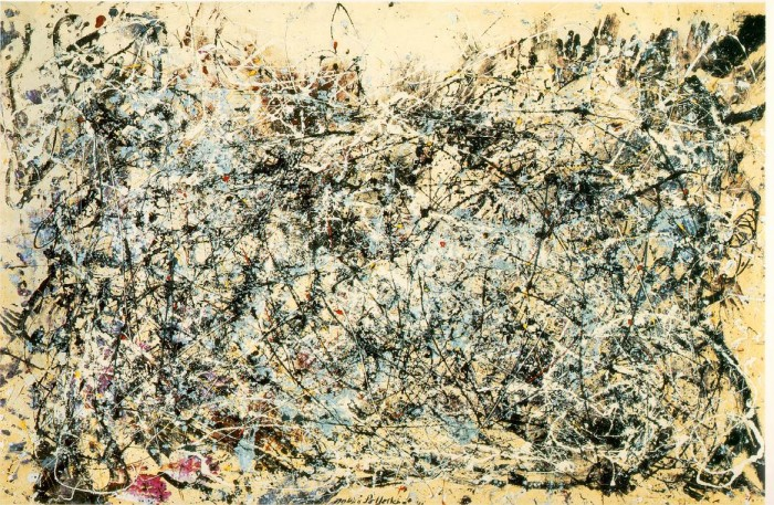 Jackson Pollock ... Physicist?  Jackson Pollock ... Physicist?