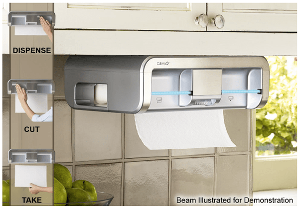 Food Sanitation Just Got a Lot Easier with the CleanCut Touchless Automatic Towel Dispenser