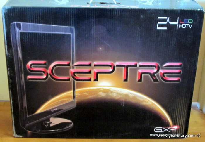 "The Sceptre 24"" E246BD-FHD LED HDTV / Monitor with DVD Player Review"