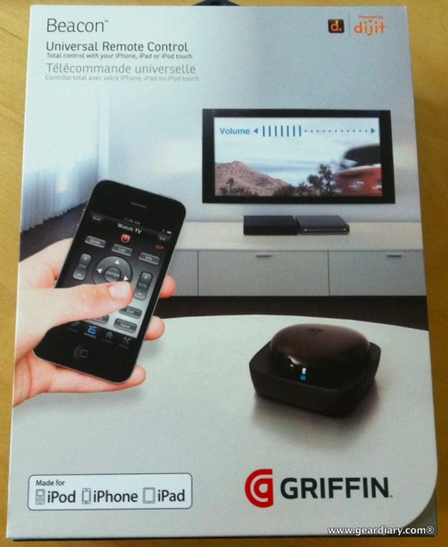 Review: Griffin Beacon Universal Remote for iOS  Review: Griffin Beacon Universal Remote for iOS