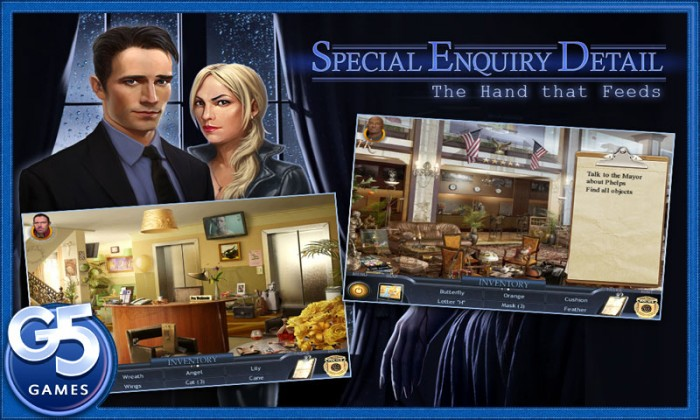 Android Game Review: Special Enquity Detail - The Hand That Feeds