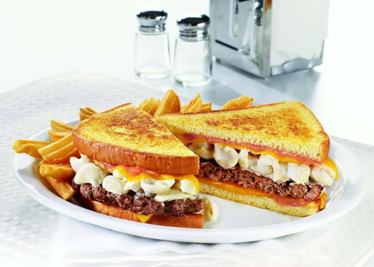 Denny's Embraces Indulgence, Ignores Health Risks with the 'Let's Get Cheesy' Menu
