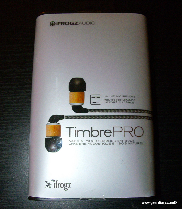 GearDiary Review: iFrogz Timbrepro Headphones with Mic