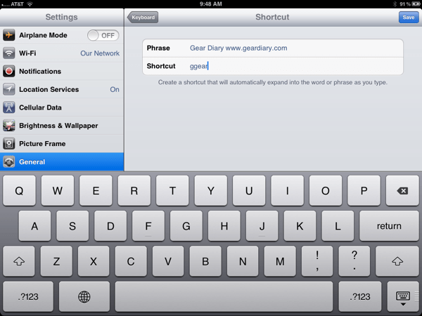 iOS 5.0 QuickTip: It is Worth the Time to Set Up Keyboard Shortcuts  iOS 5.0 QuickTip: It is Worth the Time to Set Up Keyboard Shortcuts  iOS 5.0 QuickTip: It is Worth the Time to Set Up Keyboard Shortcuts  iOS 5.0 QuickTip: It is Worth the Time to Set Up Keyboard Shortcuts  iOS 5.0 QuickTip: It is Worth the Time to Set Up Keyboard Shortcuts  iOS 5.0 QuickTip: It is Worth the Time to Set Up Keyboard Shortcuts  iOS 5.0 QuickTip: It is Worth the Time to Set Up Keyboard Shortcuts