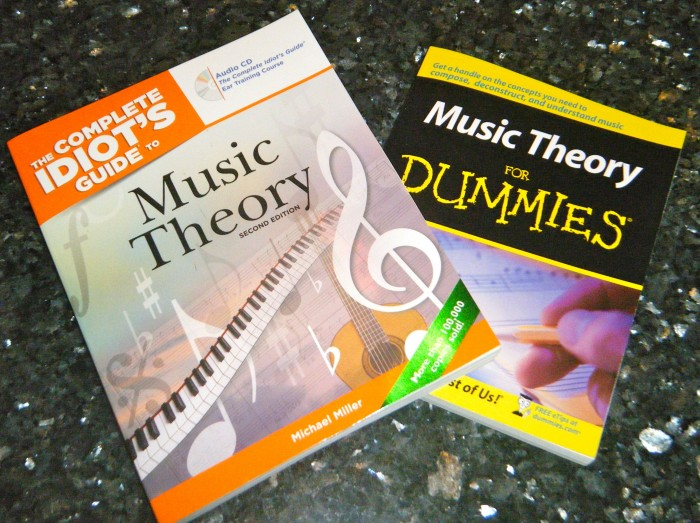 Comparison Review: Are You an 'Idiot' or a 'Dummy' Music Theorist?