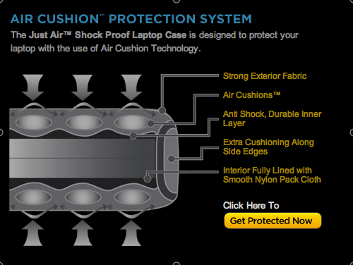 Review: Just Air Protection System for Tablets  Review: Just Air Protection System for Tablets  Review: Just Air Protection System for Tablets