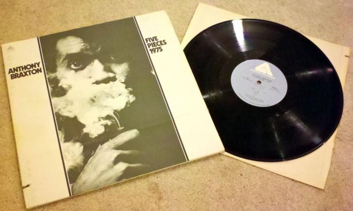 Vinyl Re-Visions: Anthony Braxton: Five Pieces 1975 (Jazz, 1975)