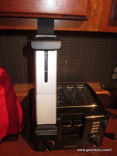 The Belkin iPad Kitchen Cabinet Mount Review