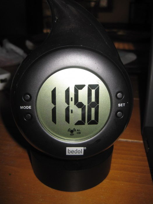 Bedol Water-Powered Clock Review