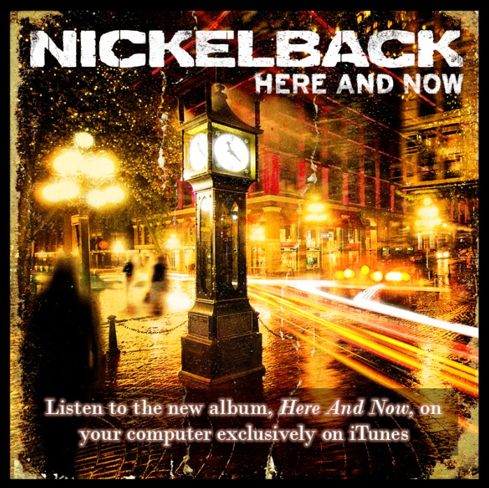 Music Diary Notes: Stream Nickelback's New Album on iTunes for Free!