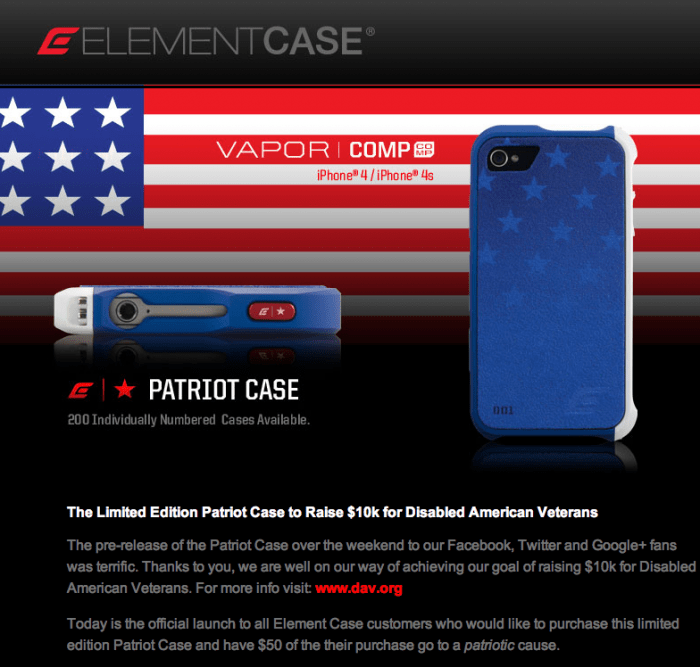 GearDiary Veterans Day Is Every Day with the ElementCase Patriot Case