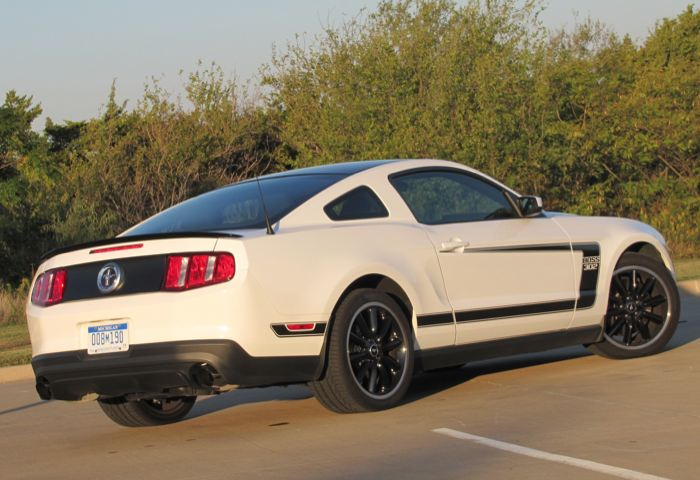 GearDiary 2012 Ford Mustang Boss 302 Is One Bad Pony Car