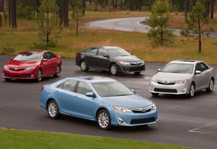 2012 Toyota Camry More of the Same Except Everything Has Changed