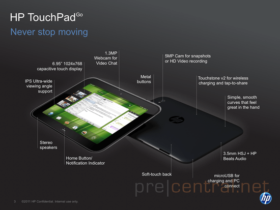 """HP TouchPad Go: The 7"""" Tablet I Want ... But Will Never Have!"""