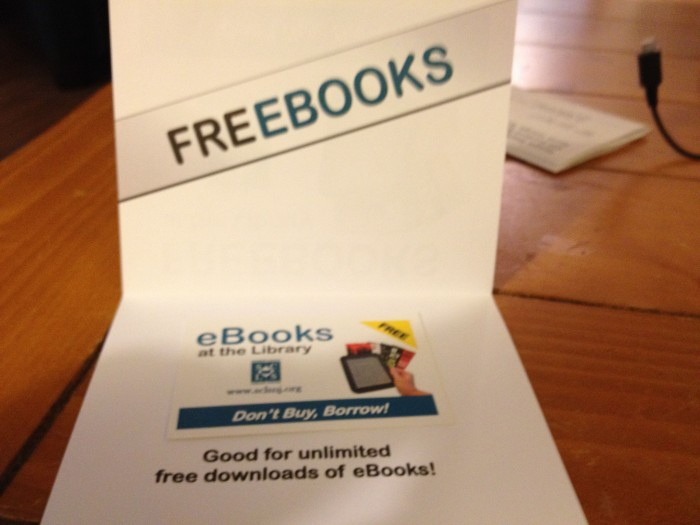 Free eBooks from the Local Library!