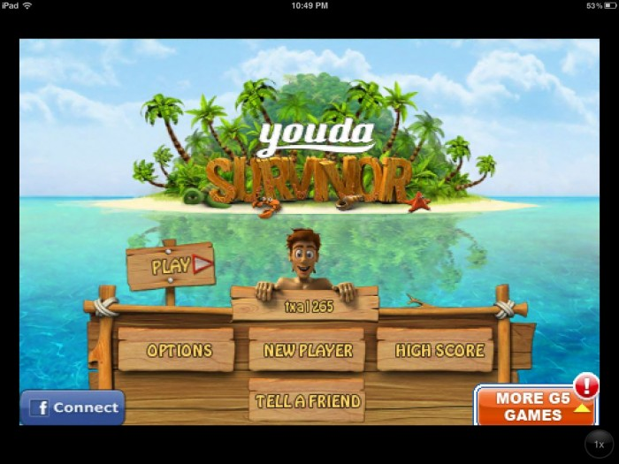 Youda Survivor iPad Game Review
