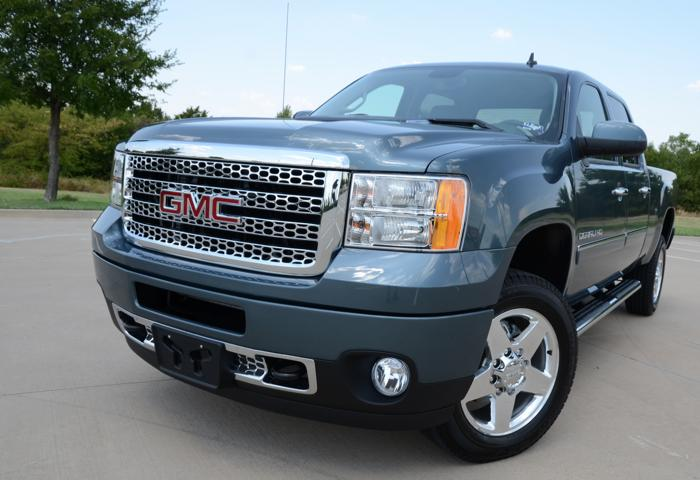 GMC Sierra 2500 HD Denali Blends Denim and Diamonds With Leather and Lace