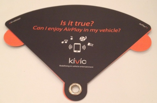 AirPlay on the Go? That's what kivi one Promises