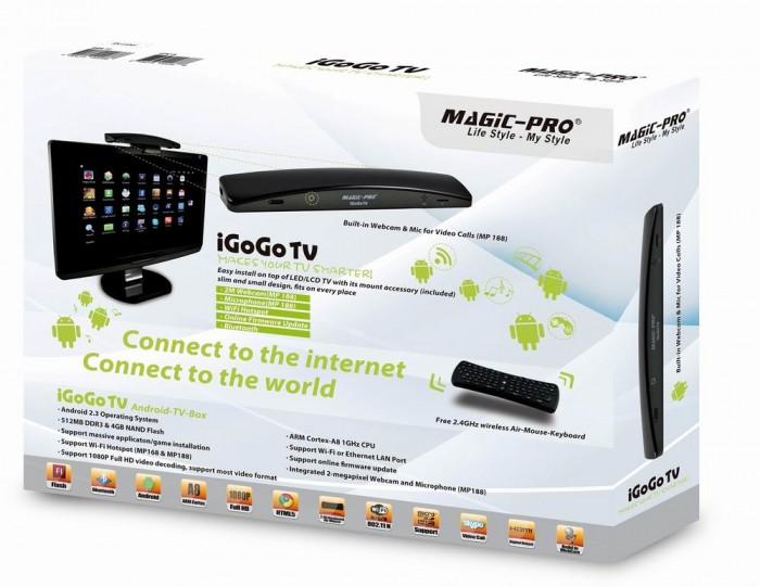 Pyramid Distribution Brings Us the iGoGo TV and Android-Based TV-Box