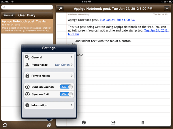 Appigo's Notebooks for iPad, a Quick Look and Exclusive Interview  Appigo's Notebooks for iPad, a Quick Look and Exclusive Interview  Appigo's Notebooks for iPad, a Quick Look and Exclusive Interview