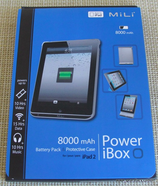 MiLi Power iBox 8000mAh Battery Charger Case for iPad 2 review