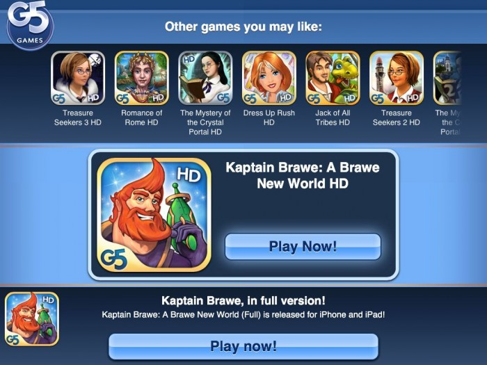 Kaptain Brawe: A Brawe New World iPad Game Review