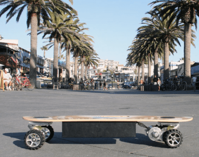 ZBoard, Like a Moped Only Way Cooler