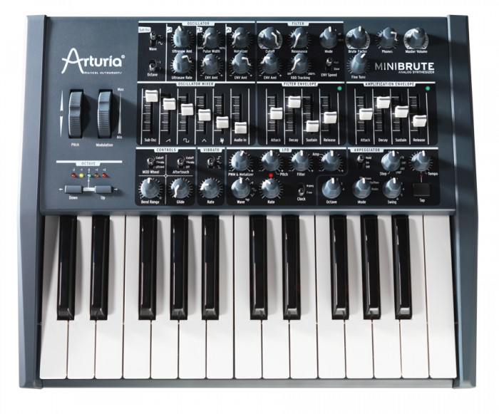 Moog and Arturia Bring Mini-Monster Analog Synths to NAMM!