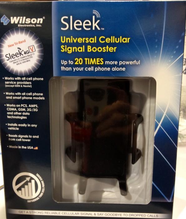 Wilson Electronics New Sleek 4G LTE Universal Cellular Signal Booster Rocks!