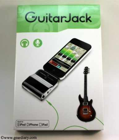 GearDiary GuitarJack Version 2 for iPhone and iPad Review