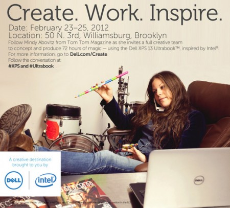Create.Work.Inspire., a Creative Destination Brought to You by Dell and Intel