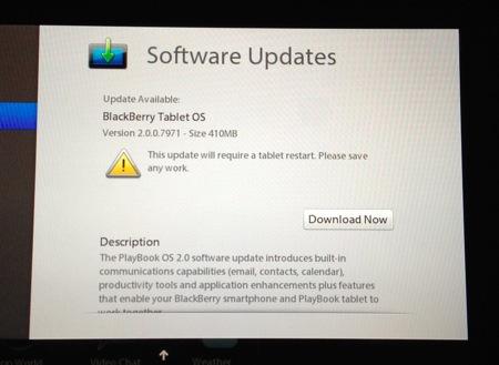 GearDiary Blackberry PlayBook OS 2.0; Too Little Too Late?