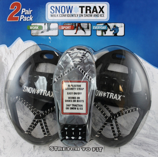 Snowtrax 2 Slip-on Cleats Gave Me Plenty of Traction on Dicey, Icy Day
