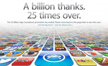 Apple Hits 25 Billion App Downloads, is the Most Admired Company