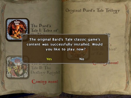 The Bard's Tale for iPad Adds Classic Bard's Tale from 1985!  The Bard's Tale for iPad Adds Classic Bard's Tale from 1985!  The Bard's Tale for iPad Adds Classic Bard's Tale from 1985!  The Bard's Tale for iPad Adds Classic Bard's Tale from 1985!