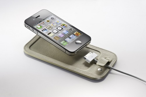 The CalypsoPad Cradles Your iPhone in Buttery Leather