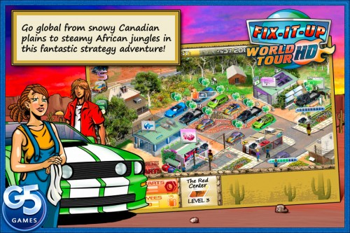 Fix It Up World Tour for the iPad Game Review  Fix It Up World Tour for the iPad Game Review