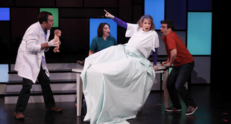Off-Broadway Becomes iBroadway in 'Rated P, for Parenthood'