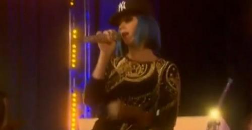 Katy Perry Plays Rapper in N*ggas In Paris